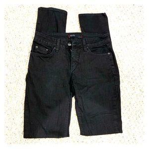 BDG black skinny jeans size 28